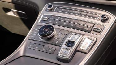 Hyundai Santa Fe SUV centre console
