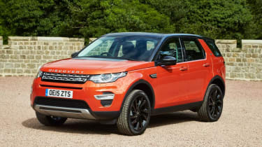 Land Rover Discovery Sport HSE - front static