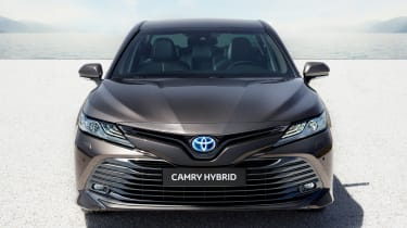 Toyota Camry Hybrid front