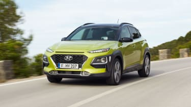 The Kona is a new SUV crossover from Hyundai, aimed at potential Nissan Juke customers