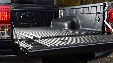 Toyota Hilux pickup tailgate