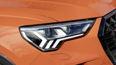 All Audi Q3 models come with LED headlights - Matrix LED versions are available as options.