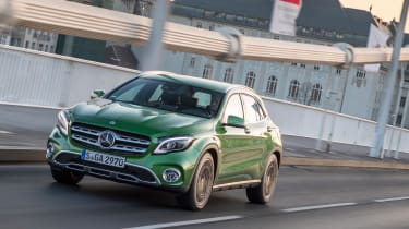 Sport and AMG Line models look more aggressive and boast improved in-car technology