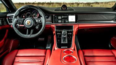 Porsche Panamera hatchback interior