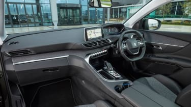 Interior uses fabric trims and gives a real concept car look - there's plenty of space too