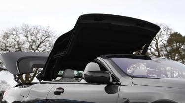 BMW M8 Convertible roof mechanism