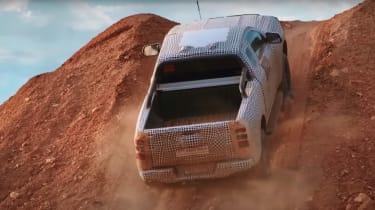 Ford Ranger teaser rear