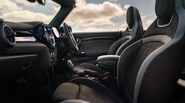 2021 MINI Convertible front seats