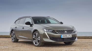 Peugeot 508 SW GT front static