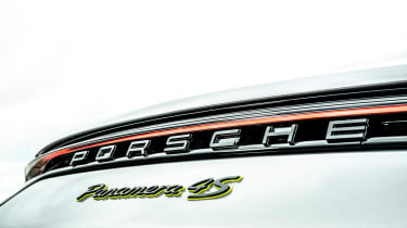 Porsche Panamera hatchback boot badge