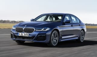 New 2020 BMW 5 Series saloon - front 3/4 driving