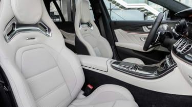 Mercedes-AMG E53 seats - cream