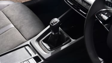 Skoda Octavia hatchback gearlever