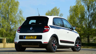 Like the Smart Fortwo, it's engine is in the back, making it an intriguing alternative to the Skoda Citigo