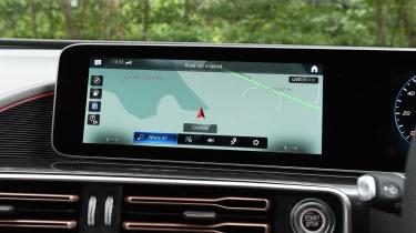 Mercedes EQC SUV navigation