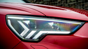 Audi RS Q3 headlight