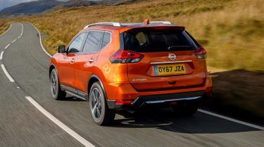 Nissan X-Trail - rear 3/4 driving