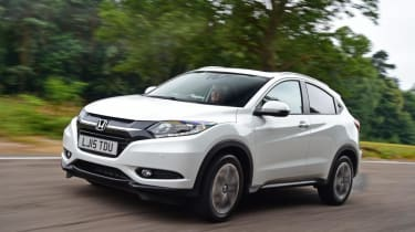The Honda HR-V is a great example of Honda's clever design thinking