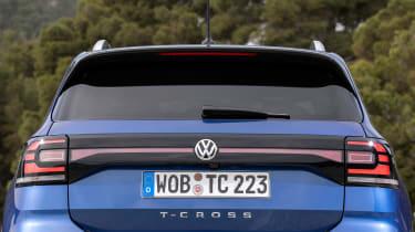 Volkswagen T-Cross 2019 rear