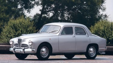 After WW2, the 1900 marked Alfa's return to building cars in earnest and became hugely successful