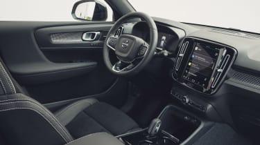 Volvo XC40 Recharge P8 SUV dashboard