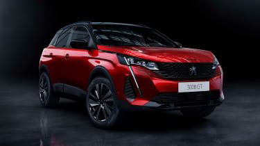2020 Peugeot 3008 - front 3/4 static