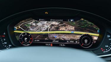 Audi Virtual Cockpit - large map view