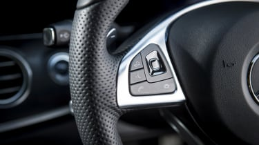Mercedes E-Class estate steering wheel