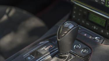 Maserati GranTurismo coupe gear selector