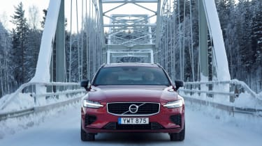 Volvo V60 T8 Twin Engine hybrid nose static