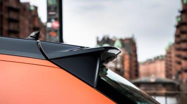 Audi A1 Citycarver hatchback rear spoiler