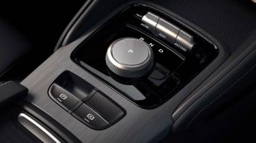 MG eZS - interior centre console