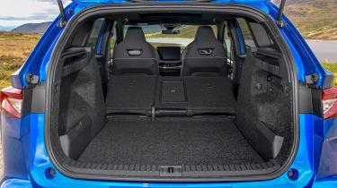 Skoda Enyaq iV SUV - boot with seats down