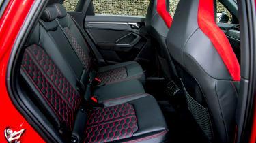 Audi RS Q3 rear seats