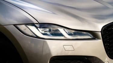 Jaguar F-Pace SUV headlights