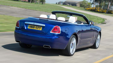 Economy of just 19mpg would be painful for most drivers, but less of an issue when the car itself costs over £265,000