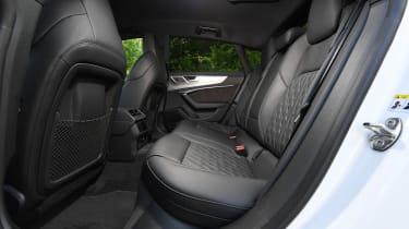 Audi S7 hatchback rear seats