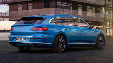 2020 Volkswagen Arteon Shooting Brake estate - rear 3/4 view