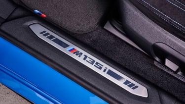 BMW M135i door plate
