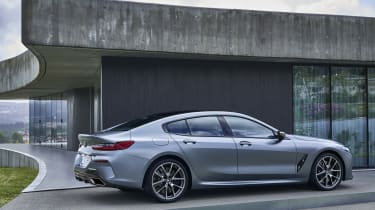BMW 8 Series Gran Coupe - side view static