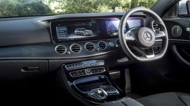 Mercedes E-Class estate interior