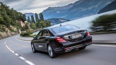 The Mercedes S-Class is the most luxurious model the German brand offers
