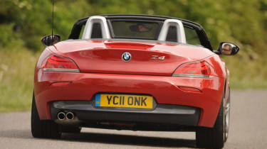 The lack of a diesel may put some off, though some may argue convertibles like the Z4 should really have a petrol engine