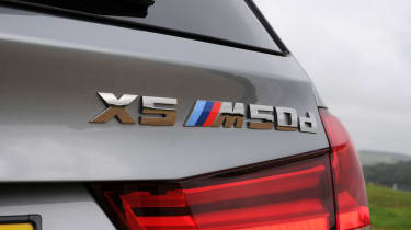 With 375bhp, the BMW X5 M50d can get from 0-62mph in 5.3 seconds
