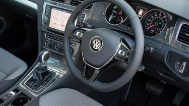 While the interior space impresses, the boot is smaller than other Golfs