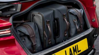 Aston Martin DBS Superleggera boot