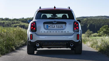 2020 MINI Countryman John Cooper Works rear end