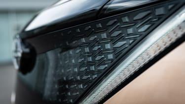 Nissan Ariya grille detail