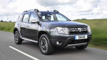 On the road, the Duster is comfortable and competent, but there's a fair bit of body lean when cornering