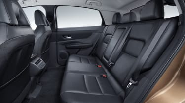 Nissan Ariya rear seats